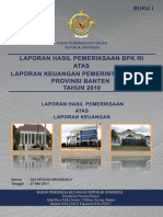 01. Lhp Lkpd Prov Banten Ta 2010