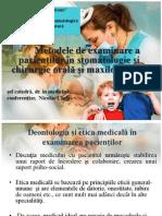 1.2 Examenul Clinic Al Bolnavilor OMF