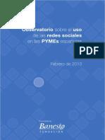 Uso de Las Redes Sociales en Las Pynes Españolas