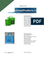 Non Woven Multi purpose bags - 1