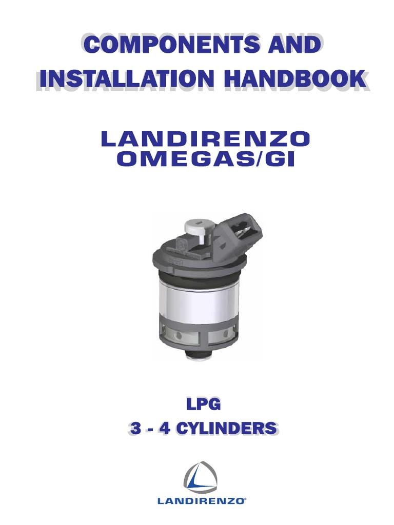 lr omegas gpl 3 4 cil gb fuel injection carburetor rh scribd com Landi Renzo USA Landi Renzo Dual Fuel PDF