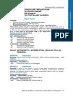 2.Registar Lijekova 2010 Grupa A