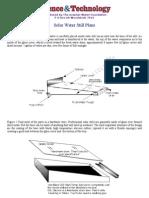 Solar Water Stills(Distillation)