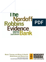 The Nordoff Robbins Evidence Bank_2nd Edition 2012