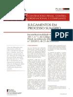 Julgamentos_em_Processo_Sumario - Inconstitucionalidade Material Do Artigo 381, n. 1 Do CPP
