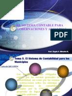 Tema 5. Sistema Contable Para Gobernaciones y Alcaldias