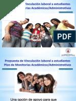 Presentacion Plan de Vinculacion Laboral a Estudiantes