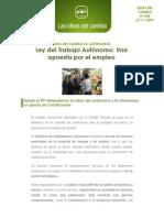 0034. Ideas Del Cambio 34. Autonomos