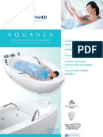 Aquanea deluxe relaxing and healing bath for home and professional use.
