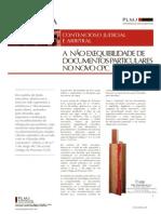 A Nao Exequibilidade de Documentos Particulares No Novo CPC