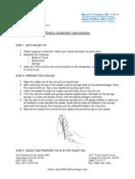 Trimix Injection Instructions