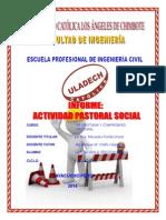 Actividad Pastoral Social(1)