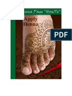 "The Henna Page ""How-to"" Apply Henna"