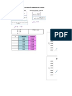 Distribución de Poisson y Binomial