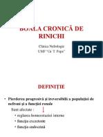 Boala Cronica de Rinichi - 2013 Curs
