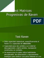 Test Matrices Progresivas de Raven