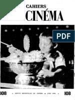 Cahiers Du Cinema 108