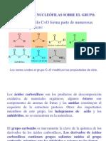 Sustitucion Nucleofilica Grupo Carbonilo