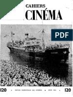 Cahiers Du Cinema 120
