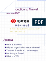 An Introduction to Firewall Technology