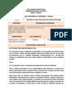 Situaciones Didacticas b1 Tema 2 3ro 2014