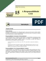 CIV 15 - A Responsabilidade Civil