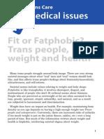 Fit Fatphobic Trans