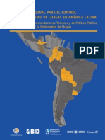 Control de Chagas-Lineamientos