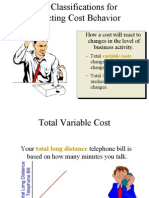 Cost Volume Profit Analysis