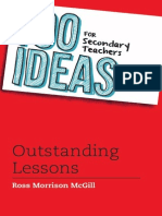 (100 Ideas for Teachers) Ross Morrison McGill-100 Ideas for Secondary Teachers_ Outstanding Lessons-Bloomsbury Education (2013)