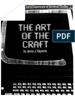 The Art of the Craft