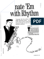 Fascinate 'Em With Rhythm