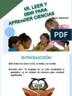 Hablar, leer y escribir Para aprender Ciencias.pptx