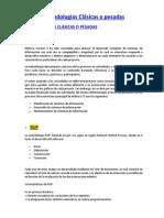 Metodologías Clásicas o Pesadas y Agiles Resumen
