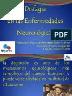 8-11!30!26.Admin.la Disfagia en Enfermedades Neurologicas Power Point