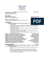 updated resume july 2014