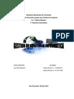 Revisión de Controles de La Gestión Informática