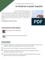 Cómo Descargar en Scribd Sin La Opción _Imprimir y Descargar_ _ EHow en Español
