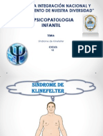 Dispositivas Sindrome de Klinefelter