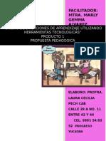 Producto 1 Propuesta Pedagogica