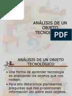 Analisis de Un Objeto Tecnológico