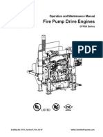Fire Pump Drive Engines CFP59 Series