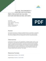 Transporte y Distribucion Del Gas Natural (24076)