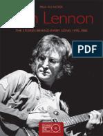 John Lennon - The Stories Behind Every Song 1970-1980-Paul Du Noyer