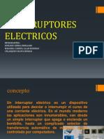 Interruptores Electricos y de Potencia