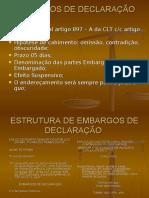 Proc Trabalho E.D e R.O Quarta Aula Dia 21.11