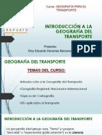 Geografía Para El Transporte