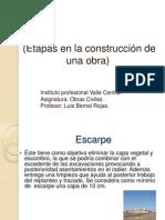 Unidad 2 Obras Industriales Etapas en La Contruccion