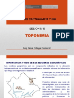 sesion 05 TOPONIMIA
