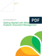 Getting Started With Explorer DM for Alfresco Community Edition 3 3